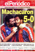 Portada diario Periodico de Catalunya del día 9/1/1994