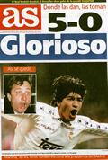 Portada diario As del día 8/1/1995