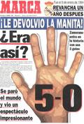 Portada diario Marca del día 8/1/1995