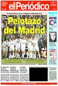 Portada diario Periodico de Catalunya del día 8/1/1995