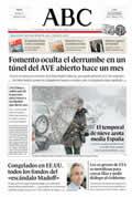 Portada diario ABC del día 14/12/2008