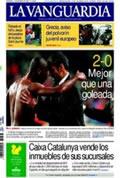 Portada diario La Vanguardia del día 14/12/2008