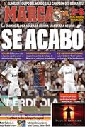 Portada diario Marca del día 3/5/2009