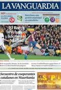 Portada diario La Vanguardia del día 30/11/2009