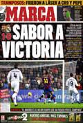 Portada diario Marca del día 30/11/2009