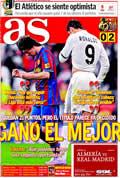 Portada diario As del día 11/4/2010
