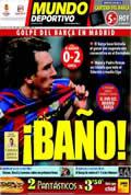 Portada diario M.Deportivo del día 11/4/2010