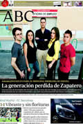 Portada diario ABC del día 17/4/2011