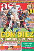 Portada diario As del día 17/4/2011