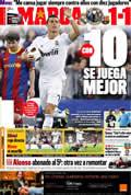 Portada diario Marca del día 17/4/2011