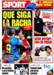 Portada diario Sport del