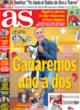 Portada diario AS del 21 de Octubre de 2008