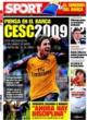 Portada diario Sport del 21 de Octubre de 2008