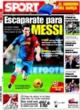 Portada diario Sport del 22 de Octubre de 2008