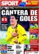 Portada diario Sport del 23 de Octubre de 2008