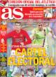 Portada diario AS del 24 de Octubre de 2008