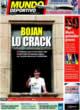Portada Mundo Deportivo del 24 de Octubre de 2008