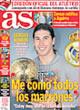 Portada diario AS del 25 de Octubre de 2008