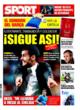 Portada diario Sport del 25 de Octubre de 2008