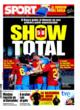 Portada diario Sport del 26 de Octubre de 2008