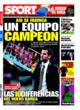 Portada diario Sport del 27 de Octubre de 2008
