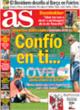 Portada diario AS del 28 de Octubre de 2008