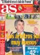 Portada diario AS del 29 de Octubre de 2008