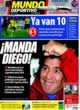Portada Mundo Deportivo del 29 de Octubre de 2008