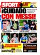 Portada diario Sport del 30 de Octubre de 2008
