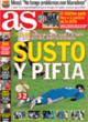 Portada diario AS del 31 de Octubre de 2008