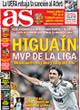 Portada diario AS del 1 de Noviembre de 2008