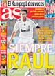 Portada diario AS del 2 de Noviembre de 2008