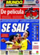 Portada Mundo Deportivo del 3 de Noviembre de 2008