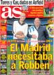 Portada diario AS del 4 de Noviembre de 2008