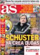 Portada diario AS del 7 de Noviembre de 2008