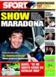 Portada diario Sport del 7 de Noviembre de 2008