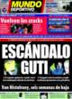 Portada Mundo Deportivo del 8 de Noviembre de 2008