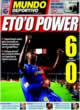 Portada Mundo Deportivo del 9 de Noviembre de 2008