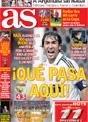Portada diario AS del 12 de Noviembre de 2008