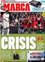 Portada diario Marca del 12 de Noviembre de 2008