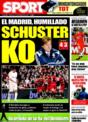 Portada diario Sport del 12 de Noviembre de 2008