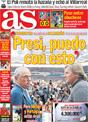 Portada diario AS del 13 de Noviembre de 2008
