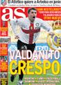 Portada diario AS del 14 de Noviembre de 2008