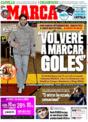 Portada diario Marca del 14 de Noviembre de 2008