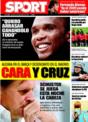 Portada diario Sport del 15 de Noviembre de 2008