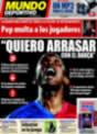 Portada Mundo Deportivo del 15 de Noviembre de 2008