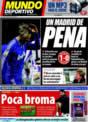 Portada Mundo Deportivo del 16 de Noviembre de 2008
