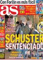 Portada diario AS del 17 de Noviembre de 2008