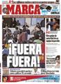Portada diario Marca del 17 de Noviembre de 2008