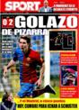 Portada diario Sport del 17 de Noviembre de 2008